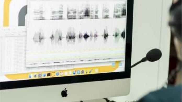 Al restored voice of radio journalist