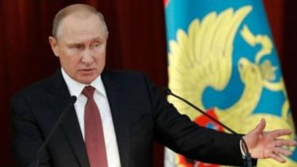 Madaxweynaha Ruushka Viladmir Putin