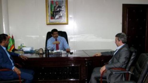 سيدي محمد ولد محم، رئيس الحزب الحاكم، حزب الاتحاد من أجل الجمهورية، ووزير الثقافة، يشدد على أن ملف العبودية يتم إستخدامه كورقة ضغط على موريتانيا