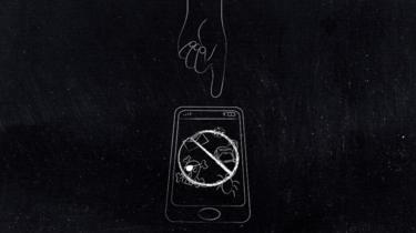Desenho de smartphone