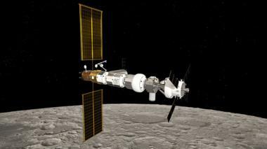 Artwork: Lunar Gateway
