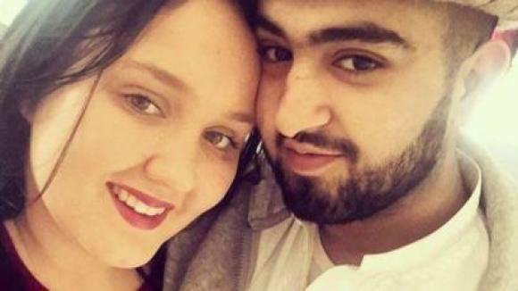 Zakir Nawaz and his wife Georgia