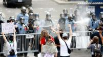 George Floyd: Minnesota sees second night of clashes over death in ...