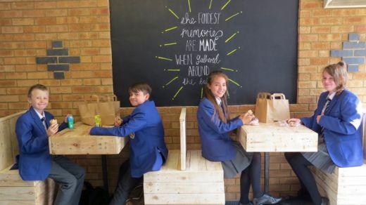 Castle Newnham School cafe