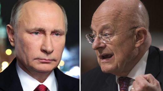Clapper and Putin