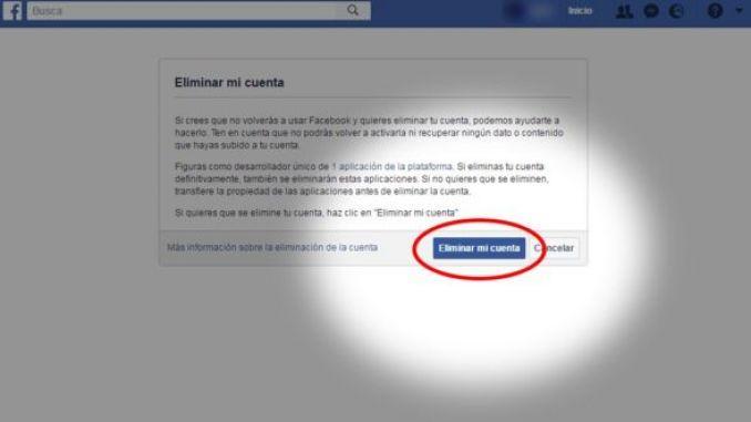 Captura de pantalla de Facebook.