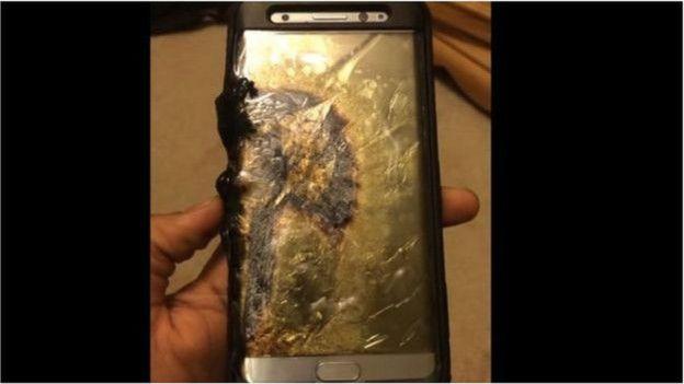 Điện thoại bị cháy