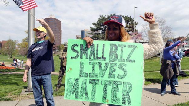 Protesta en Missouri