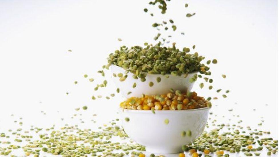 Lentilha e milho