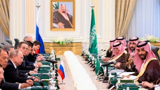 Russia leaves Saudi Arabia behind in oil issue; Arab countries' crisis deepens