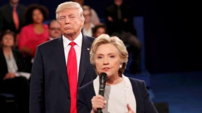 ترامب و هيلاري كلينتون