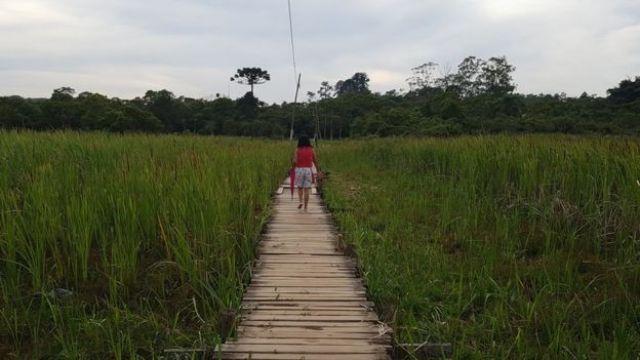 Parte de trajeto feito por Sidinéia em Paraisópolis