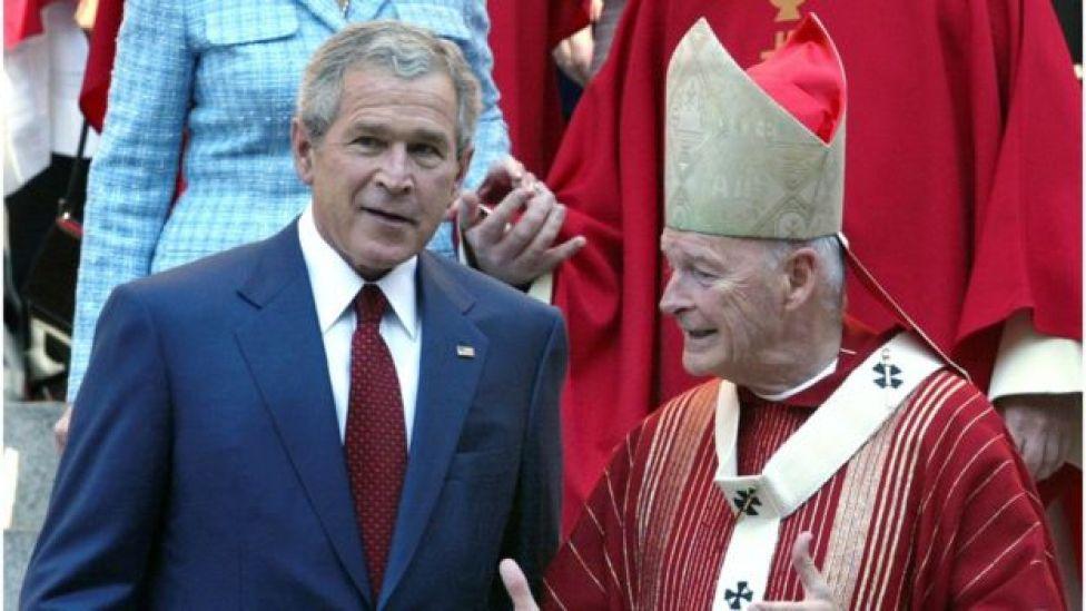 George W Bush and McCarrick