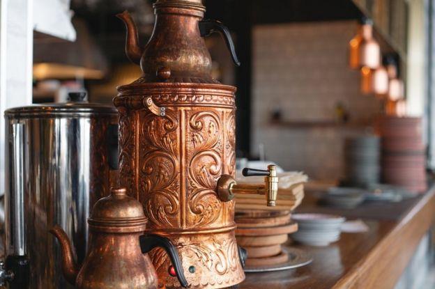 Tea casserole in Turkey