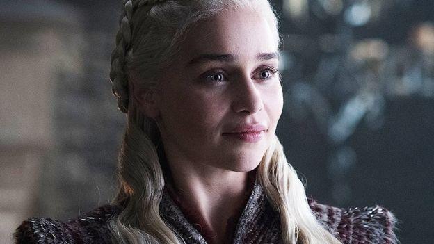 Emilia Clark as Daenerys Targaryen