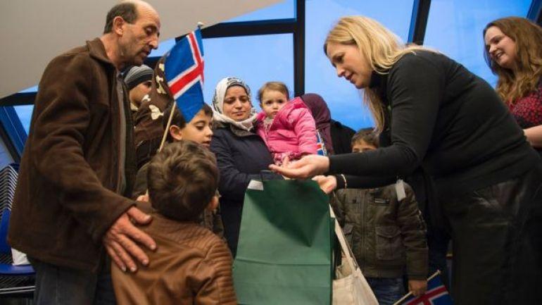 Llegada de refugiados sirios, enero de 2016