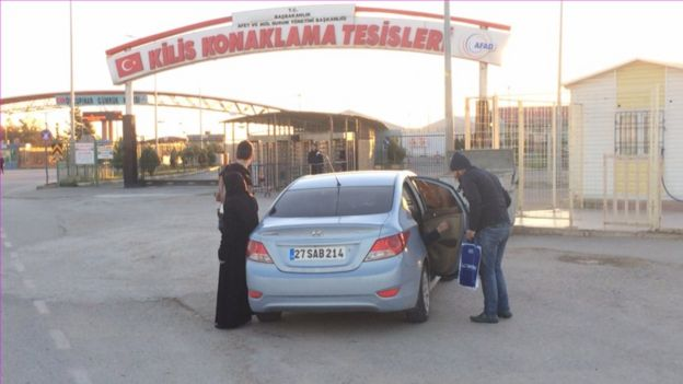 Kilis border crossing between Turkey and Syria