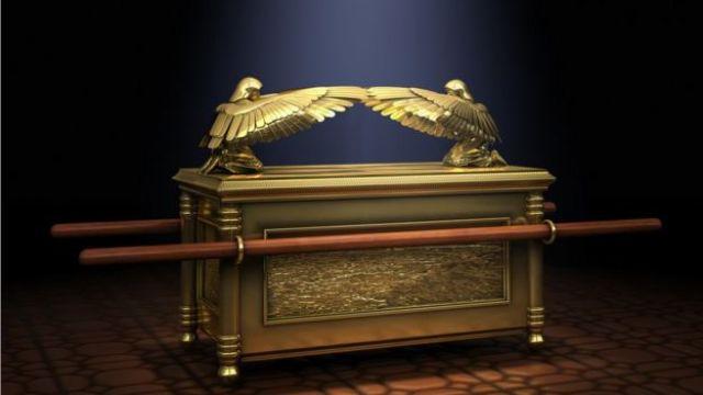 Representación del arca de la Alianza