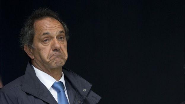 Daniel Scioli, gobernador de la provincia de Buenos Aires y aspirante a la presidencia