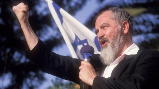 Rabbi Kahane em 1990