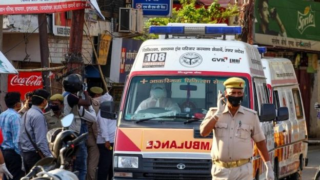 アラハバードの救急車