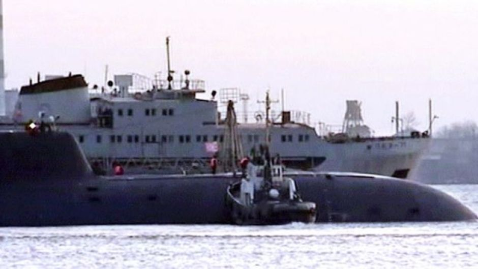 Submarino ruso Kursk