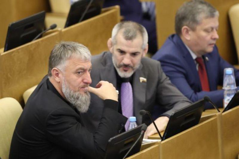 Rusiya Dövlət Dumasının üzvü Adam Delimxanov