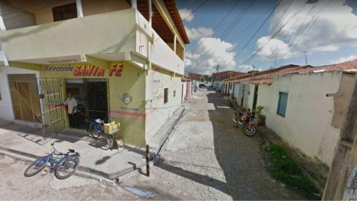 Imagem do conjunto Santa Fé, localizado no bairro do Ancuri, em Fortaleza