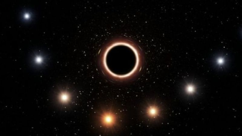 Samanyolu'nun merkezindeki kara delik