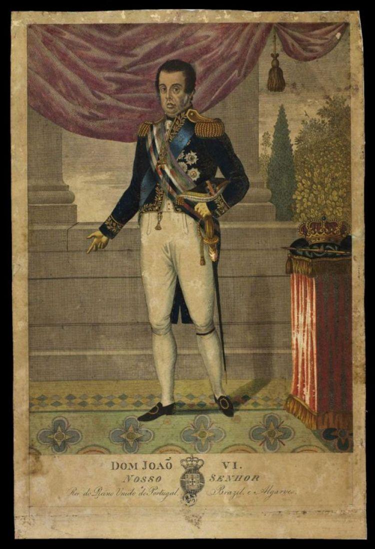 Dom João 6º como rei do Reino Unido de Portugal, Brasil e Algarves