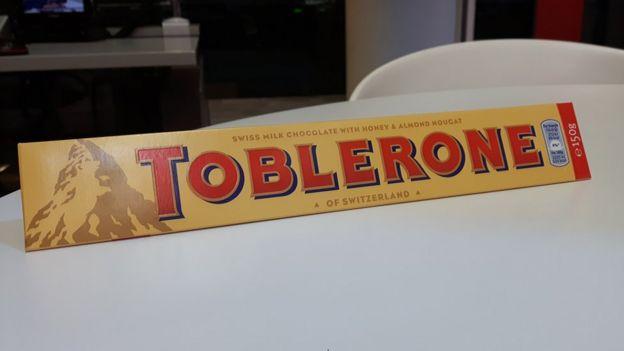 Chocolatina Toblerone de 150 g