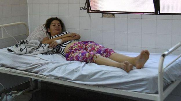 Paciente con dengue