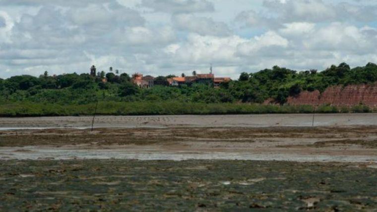 Vista da vila de Alcântara (MA)