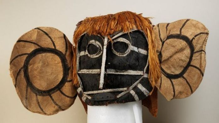 A mask from the Alto Solimões region