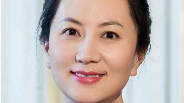 Meng Wanzhou, la directora financiera de Huawei Technologies Co Ltd