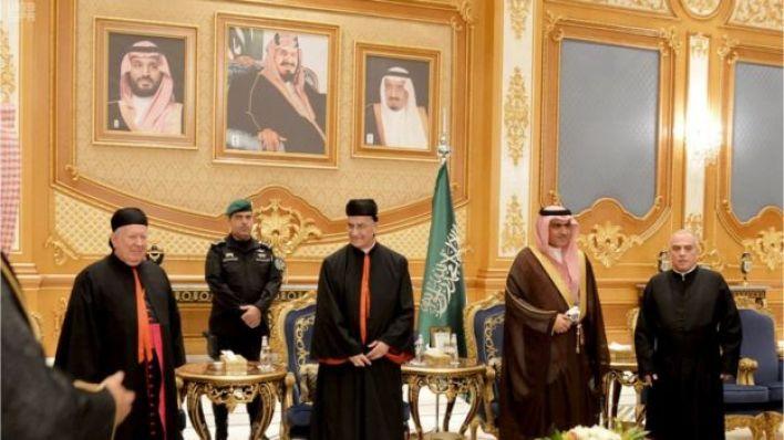 البطريرك بشارة الراعي والوزير السعودي لشؤون الخليج