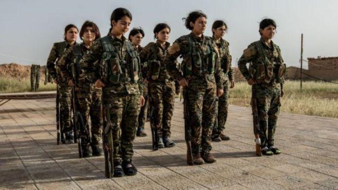 Milicia del YPG.