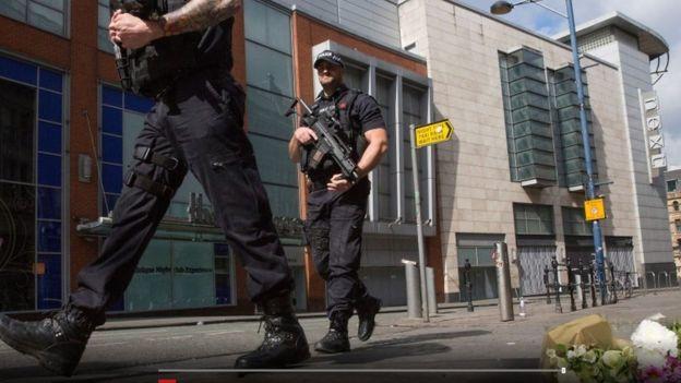أفراد من الشرطة البريطانية