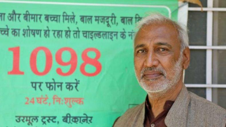 Arvind Ojha, líder de la organización Urmul Trust. (Foto: Peter Leng / Neha Sharma)