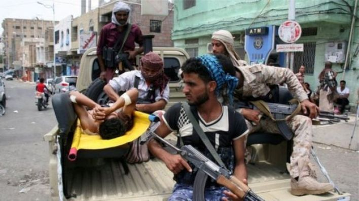 مسلحون حوثيون