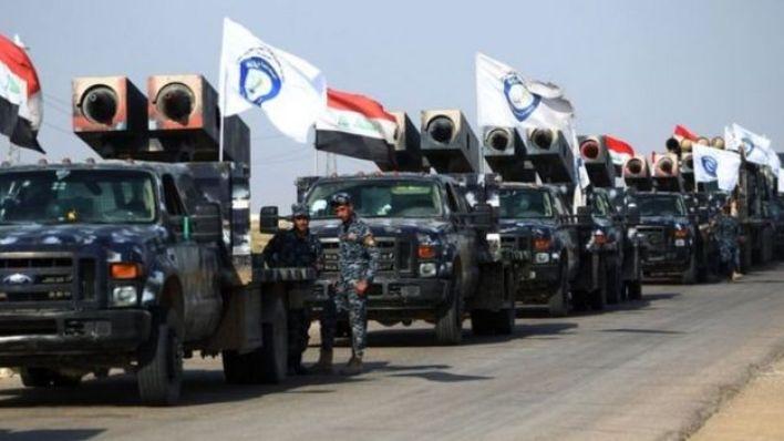 القوات العراقية بدأت في التدفق على كركوك
