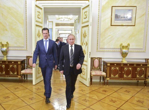 Al Assad encontró en Putin un aliado crucial para su permanencia en el poder.