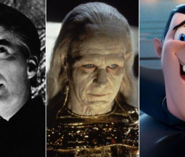 Christopher Lee In Dracula Has Risen From The Grave Gary Oldman In Bram Stokers Dracula