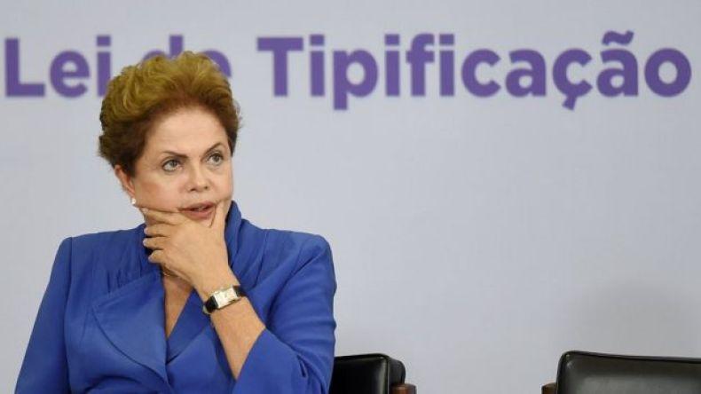 Dilma Rousseff, expresidenta de Brasil