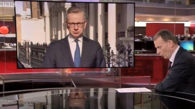 BBC周日(29日)的政论节目(Andrew Marr Show)中,英国保守党重臣之一内阁办公室部长迈克尔·戈夫(Michael Gove 香港译高文浩)被问及英国政府应对疫情的准备工作