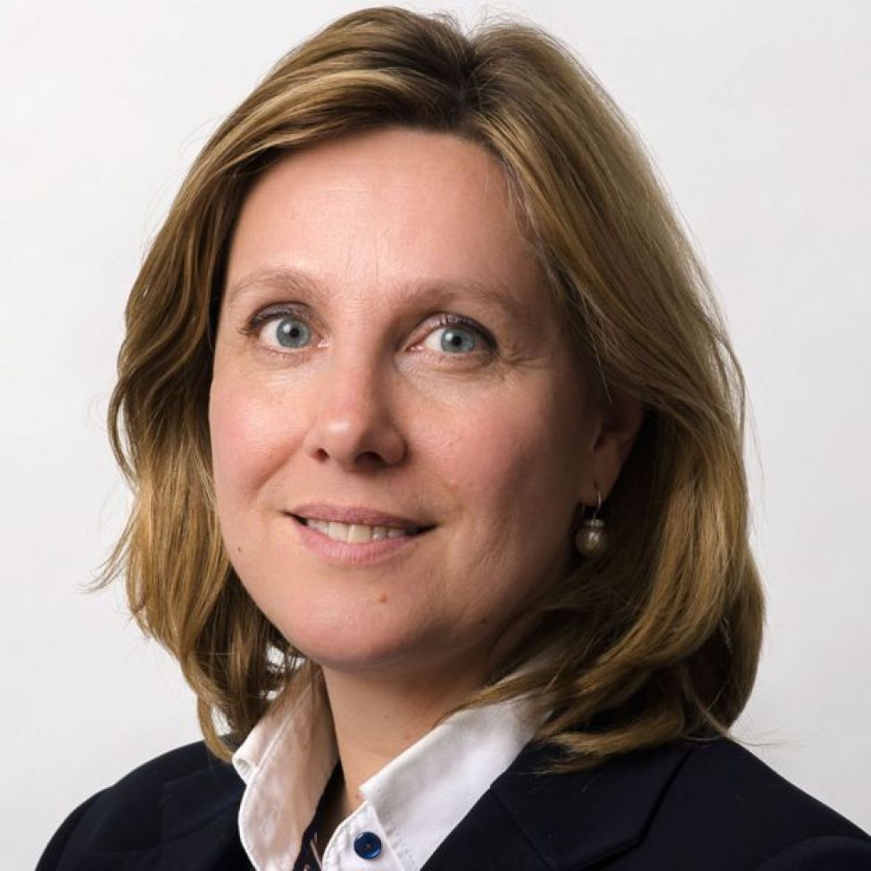 Angeline van Dijk, do Serviço Penitenciário Holandês