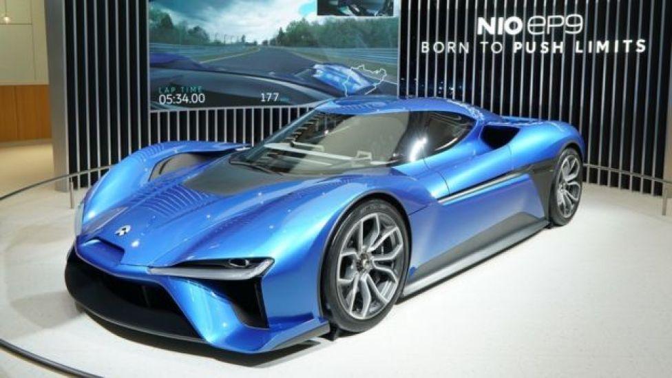 China's Nio EP9