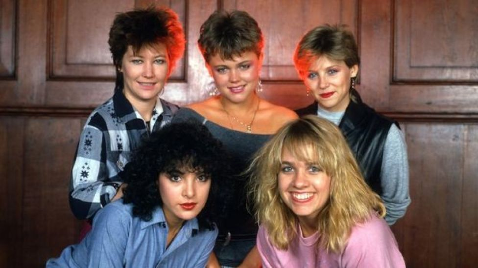 The Go-Gos in 1983