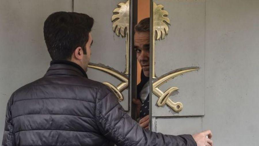 El consulado saudita en Estambul