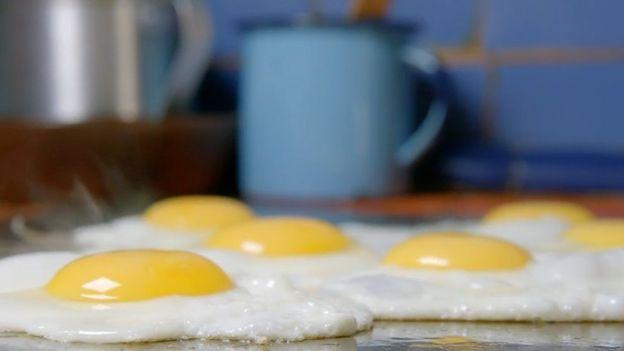 Huevos en sartén